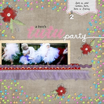 a two's tutu party WEB